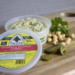 Cilantro Jalepeño Hummus