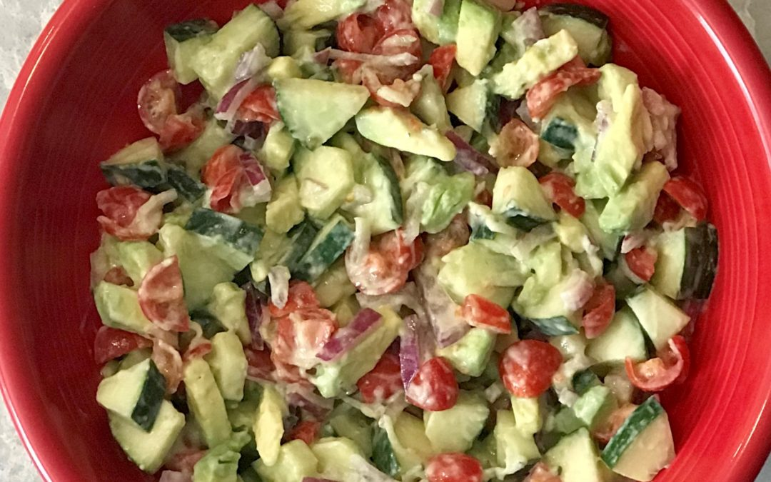 Cool Tzatziki Summer Salad